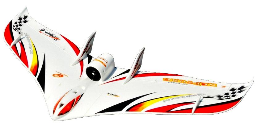 Большие >1100мм TechOne Летающее крыло Tech One Neptune EDF 1230мм EPO ARF (красный)