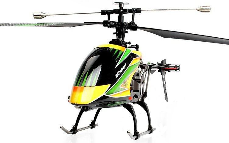 Большие WL Toys Вертолёт 4-к большой р/у 2.4GHz WL Toys V912 Sky Dancer
