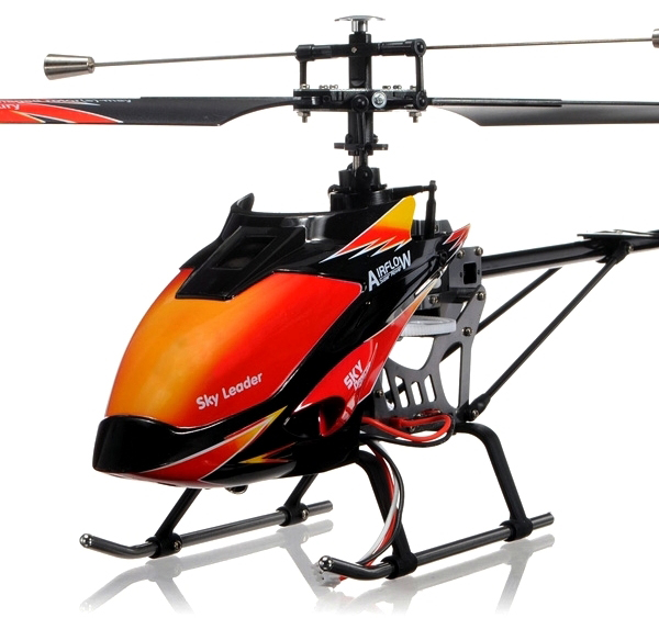 Большие WL Toys Вертолёт 4-к большой р/у 2.4GHz WL Toys V913 Sky Leader