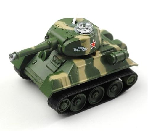 """Мини и микро Happy Cow Танк микро р/у """"Tank-7"""" (СССР)"""