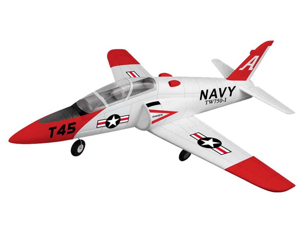 Готовые к полету (RTF) VolantexRC Модель р/у 2.4GHz реактивного самолёта VolantexRC Goshawk T45 (TW-750-1) 780мм RTF