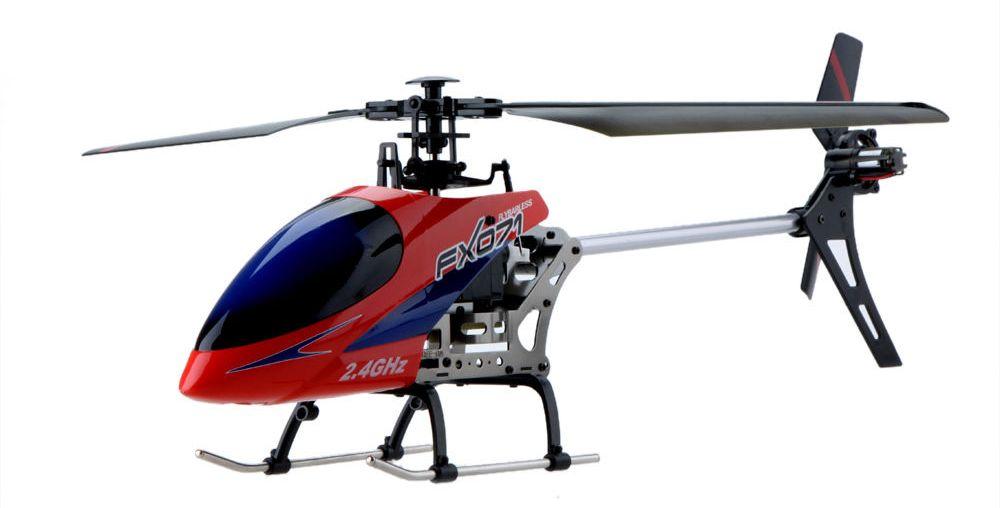 Большие Fei Lun Вертолёт 4-к большой р/у 2.4GHz Fei Lun FX071C бесфлайбарный