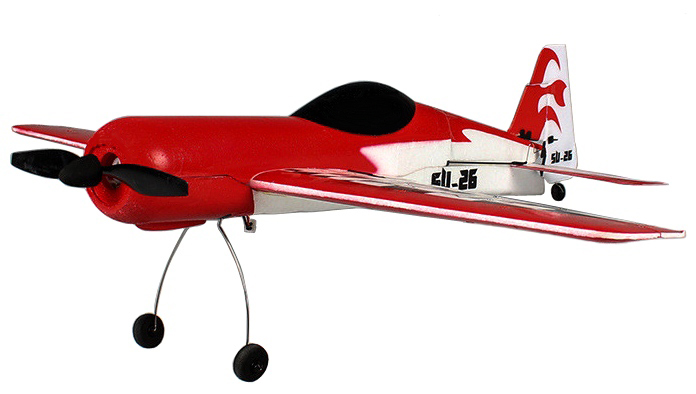 Готовые к полету (RTF) WL Toys Самолёт 4-к р/у 2.4GHz WL Toys F929 SU-26