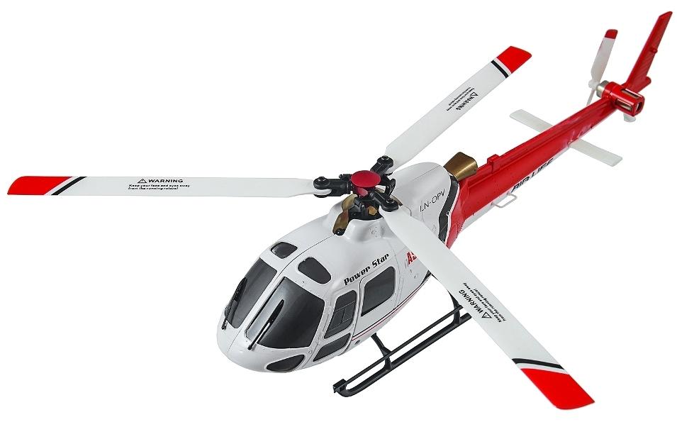 Мини и микро WL Toys Вертолёт 3D микро 2.4GHz WL Toys V931 FBL бесколлекторный (красный)