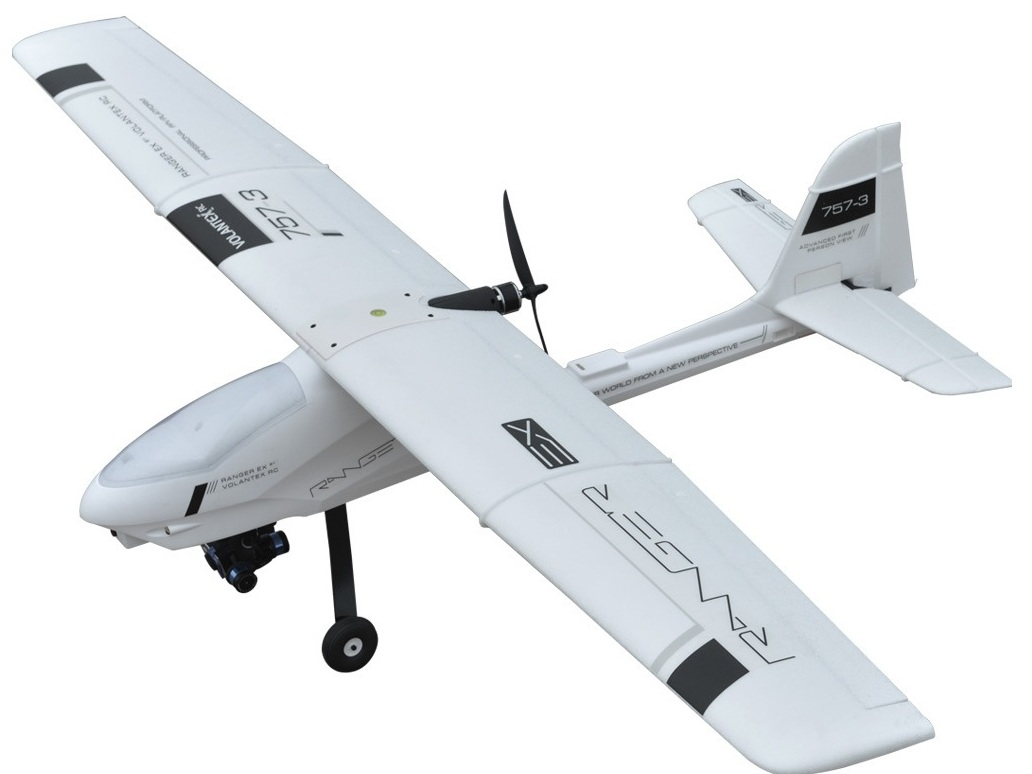 Почти готовые (ARF, PNP) VolantexRC Модель р/у планера VolantexRC Ranger EX (TW-757-3) 2000мм PNP