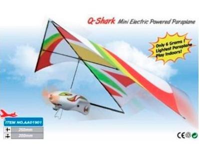 Электромоторные ZT Model Самолёт (дельтаплан) электромоторный ZT Model Q-Shark 250мм