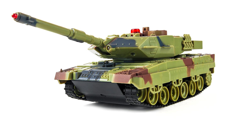 Танки с и/к пушкой HuanQi Танк р/у 1:36 HuanQi H500 Bluetooth с и/к пушкой для танкового боя