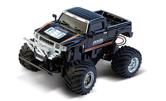 Масштабы 1:67 - 1:32 Great Wall Toys Джип микро р/у 1:58 GWT 2207 (черный, 35MHz)
