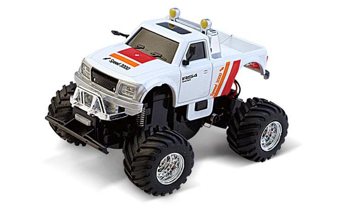 Масштабы 1:67 - 1:32 Great Wall Toys Джип микро р/у 1:58 GWT 2207 (бело-красный, 40MHz)