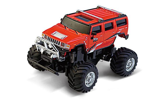 Масштабы 1:67 - 1:32 Great Wall Toys Джип микро р/у 1:58 GWT 2207 (красный, 49MHz)