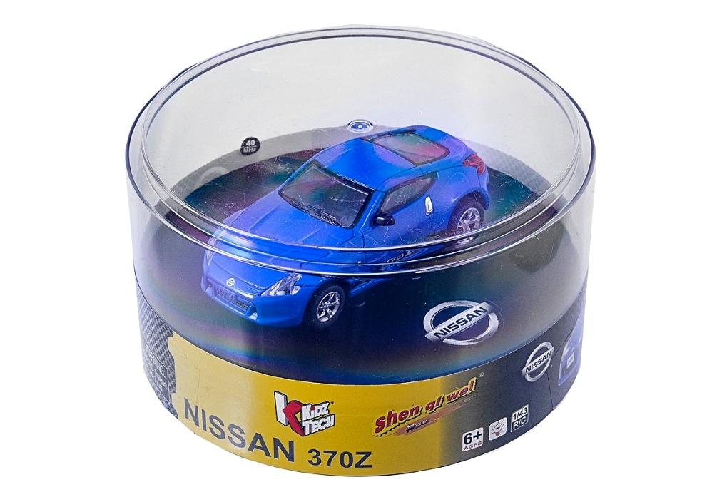 Масштабы 1:67 - 1:32 ShenQiWei Машинка микро р/у 1:43 лиценз. Nissan 370Z (синий)