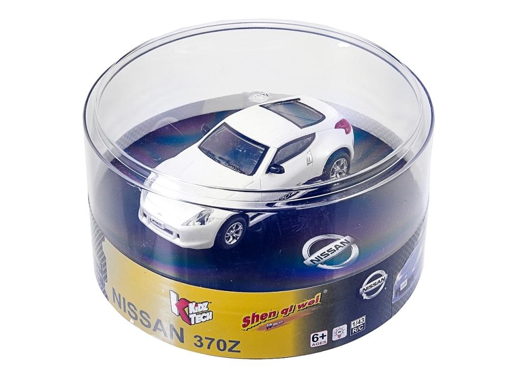Масштабы 1:67 - 1:32 ShenQiWei Машинка микро р/у 1:43 лиценз. Nissan 370Z (белый)