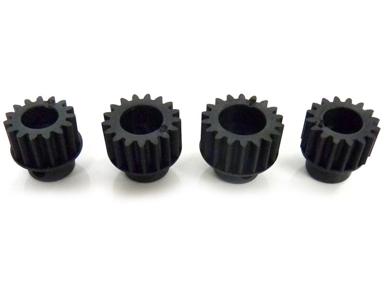 Пиньоны Himoto 31040 1:10 0.8 Plastic Pinion Gears 15T, 16T, 17T, 18T