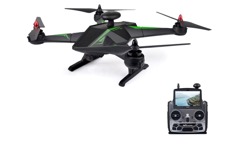 Большие RC Leading Квадрокоптер р/у RC Leading 136FS бесколлекторный с камерой FPV 720p и GPS