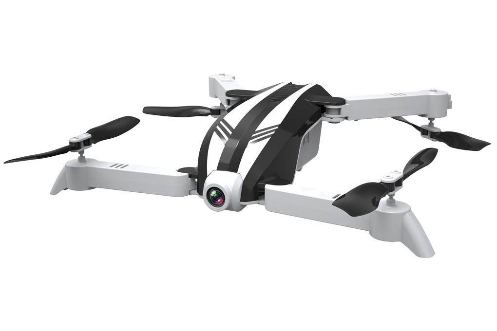 Мини Helicute Квадрокоптер мини р/у Helicute H821HW Zubo с камерой Wi-Fi складной