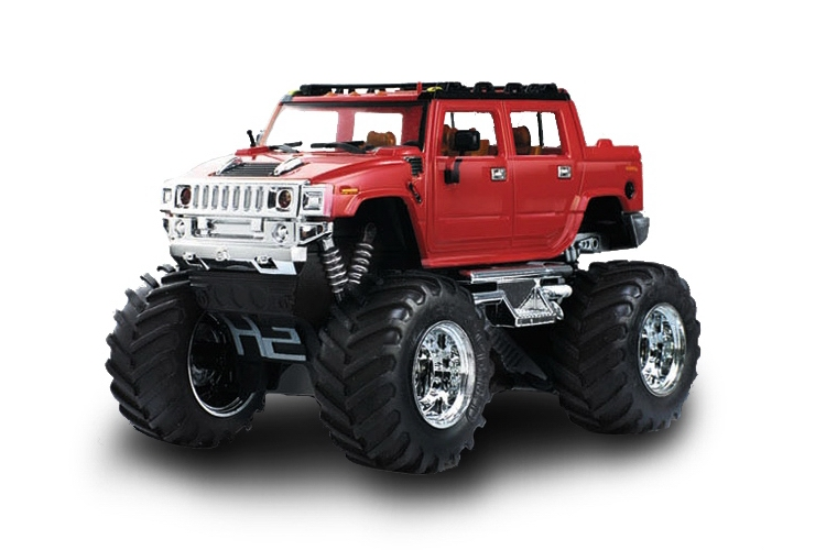 Масштабы 1:67 - 1:32 Great Wall Toys Джип микро р/у 1:43 Hummer (красный)
