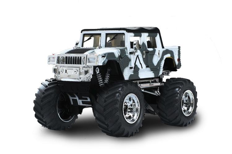 Масштабы 1:67 - 1:32 Great Wall Toys Джип микро р/у 1:43 Hummer (хаки белый)