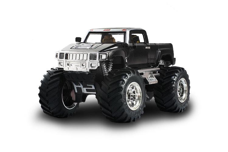 Масштабы 1:67 - 1:32 Great Wall Toys Джип микро р/у 1:43 Hummer (черный)