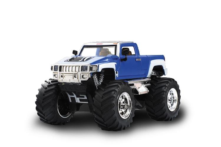Масштабы 1:67 - 1:32 Great Wall Toys Джип микро р/у 1:43 Hummer (синий)