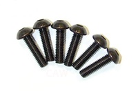 Team Magic 3.5x13mm Steel Button Head Screw 6p