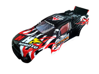 31507 1:10 Truggy Car Body Black 1P
