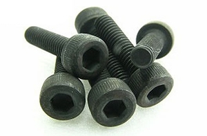 Team Magic 3x12mm Cap Screw 6p