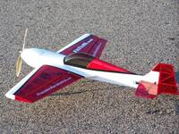 Самолёт р/у Precision Aerobatics Katana Mini 1020мм KIT (красный)